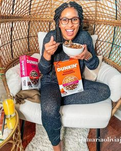 #Ad Do you❤coffee☕ like I do? Well you're gonna love adding @postcereals new coffee cereals to your morning routine! Be on the lookout for #PostDunkinCereal's ~ Dunkin' Caramel Macchiato and Dunkin' Mocha Latte at your local grocers! @dunkindonuts