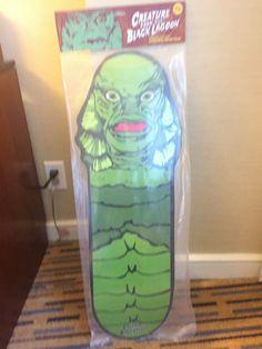 SDCC 2019 Kreatur aus der schwarzen Lagune Han Cholo Skate Deck Ed. 50 ausverkauft | eBay Skate Decks, Skateboard Decks, Burma, Trinidad Und Tobago, Black Lagoon, Lunch Box, Creatures, Ebay, Black