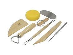 SE 4PT8 8-Piece Pottery Tool Set