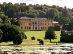West Wycombe Park, Buckinghamshire. Built by another branch of the Dashwood family. An exquisite Italianate house in the middle of the English countryside.