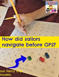 Have you ever wondered how sailors navigated before GPS and our detailed maps? They used portolan navigation to sail those dangerous waters. Geography Lesson Plans, Geography Activities, History Activities, Human Geography, World History Teaching, World History Lessons, Middle School Geography, Early Explorers, 6th Grade Social Studies
