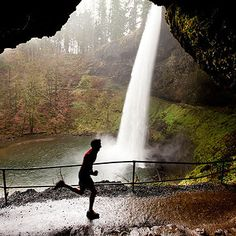 South Fall at Silver Falls State Park near Silverton, Oregon ~ 14 Underrated Places You'll Really Want To Move To