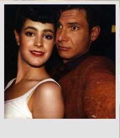 Blade Runner Polaroids (tournage) by Sean Young.