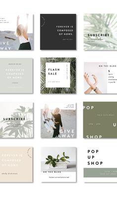 Top Website Design Helpful Hints You Should Know Instagram Feed Layout, Instagram Grid, Instagram Post Template, Instagram Design, Best Instagram Feeds, Instagram Posts, Social Media Branding, Social Media Design, Graphisches Design