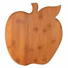 This hard and durable apple-shaped Totally Bamboo Apple Cutting/Serving Board is a great way to cut fruits and veggies and even serve them. This fun bamboo board is just as decorative as it is functional, making it a delightful kitchen addition. Woodworking Guide, Custom Woodworking, Woodworking Projects Plans, Diy Cutting Board, Wood Cutting Boards, Bamboo Cutting Board, Diy Wood Projects, Wood Crafts, Best Kitchen Sinks