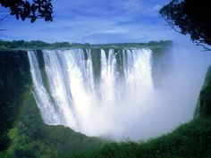 Victoria Falls, Zimbabwe, Africa - Zimbabwe is the perfect spot for adventure seekers - with bungee jumping, kayaking, and rafting.