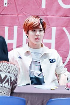 160214 UP10TION Incheon FansigningWooshinCr:  PlanetX  Do not edit
