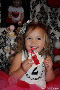 Tutu Cute Glam Elmo Party | CatchMyParty.com