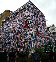 'clothes recycling' in brick lane London