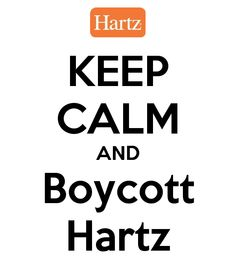 Twitter / @KatieKaophonicc: Keep Calm and Boycott Hartz