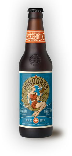 Pandoras Bock Colorado Craft Beer - wonderfully toasty malt medium body, just my style. More Beer, Wine And Beer, Christmas Ale, Beer Bucket, Beer Label Design, Cooking With Beer, Beer Art, Beer Brands, Beer Packaging