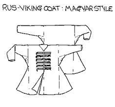 a coat that could have been worn by a Norman noble living in Birka Sweden around the year 1000.
