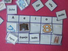 EL BLOG DE SAMI. EMPIEZA POR VOCAL Ludo, Language Immersion, Dora, Dual Language, Literacy Activities, Montessori, Education, Holiday Decor, Blog