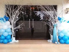 Idea para decorar una fiesta de cumpleaños Frozen Elsa Birthday Party, Disney Frozen Birthday, Winter Birthday, 3rd Birthday, Frozen Party Decorations, Frozen Theme Party, Birthday Party Decorations, Frozen Disney, Frozen Baby Shower