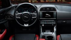 Jaguar XE Driver Focused Performance Paired Interior Photo