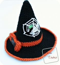 It's that time again, another Halloween themed pattern. Actually, there's kinda 2 patterns here, depending upon how you look at it because you're getting the pattern for the hat a…