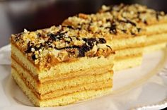 Marlenka Czech Recipes, Ethnic Recipes, Fancy Cakes, Banana Bread, Dessert Recipes, Food And Drink, Cooking Recipes, Yummy Food, Sweets