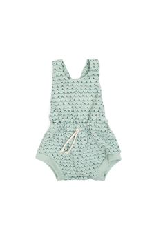 romper shortie in 'waves'