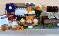 Dessert Table 3 A Very Blessed Housewarming Party styled by Cupcake Wishes & Birthday Dreams