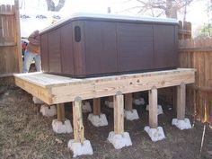 hot tub on deck - Google Search More