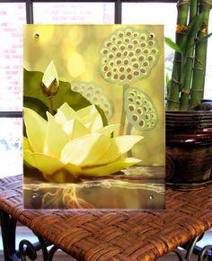 Lotus, lotus seed pod, home decor, wall art