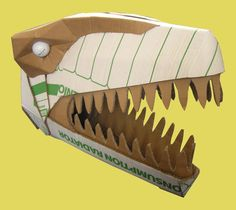 Dinosaurs - Welcome to Wild Card Creations, the home of fabulous cardboard dinosaur helmets