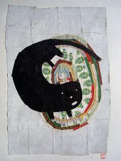 Yara Kono  http://yarakono.blogspot.co.uk/  #art #cat