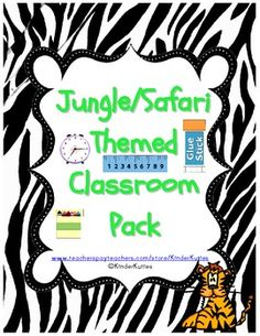 This is a set of classroom supplies labels for a safari / jungle theme classroom. **These labels have koalas on them as per request. Labels have. Classroom Calendar, Classroom Labels, Classroom Supplies, Classroom Organization, Classroom Board, School Classroom, School Supplies, Animal Print Classroom, Jungle Theme Classroom