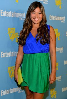 Jenna Ushkowitz at the Entertainment Weekly Party at Comic-Con in San Diego on July 14, 2012