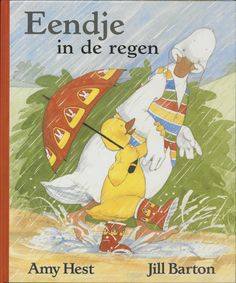 Books: In the Rain with Baby Duck (Hardcover) by Amy Hest (Author) and Jill Barton (Illustrator), 109273603 Walking In The Rain, Baby Ducks, This Is A Book, Animal Books, Toddler Books, April Showers, Toddler Preschool, Toddler Class, Preschool Books