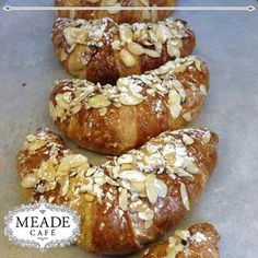 delights from our Meade Bakery such as these delicious croissants. Croissants, Bakery, Bread, Food, Crescents, Brot, Essen, Crescent Roll, Baking