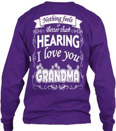I love you Grandma | Teespring