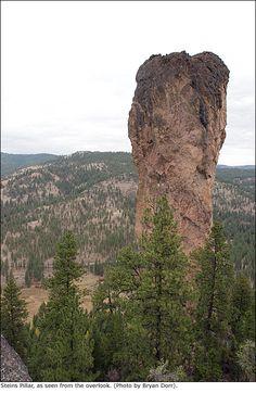Steins Pillar, near Prineville Oregon