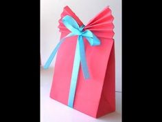 DIY crafts: How to Make a Paper GIFT BAG (Easy) + Tutorial . ** How to make a 3D Flower POP UP Greeting Card + Tutorial . https://www.youtube.com/watch?v=afq...