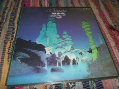YES-CLASSICS -VINYL-LP DDR AMIGA -BILL BRUFORD -IAN ANDERSON -RICK WAKEMAN