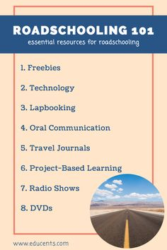 Roadschooling 101: Essential Tools for a Homeschooler on the Road - Educents Blog