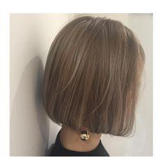 「ブリーチ後 イルミナカラー スケスケカラー #ブルージュ スケスケにしますよ(^O^) #allys #hair #aoyama #sibuya…