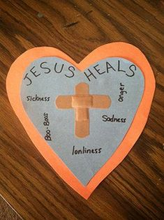 Jesus Heals Craft and kids get to play with bandaids! Your littlest learners will love playing with bandaids and learning about Jesus' power to heal.