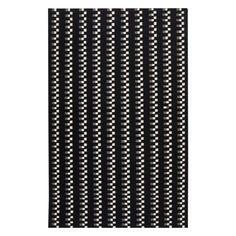 Surya FT-135 Flat-Weave Area Rug - Charcoal / Ivory - FT135-