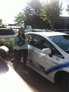Congratulations on passing your road test this week, Mackenzie! 🚙🚙 #ipassed #SuccessSaturday #drivewithvalley