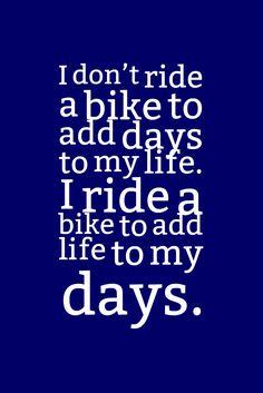 ❤ I found my passion on my bike!!