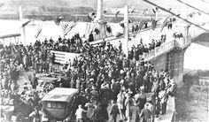 Market St Bridge opening 1917 Chattanooga, Tennessee