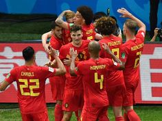Belgium win over Brazil in the quarterfinals of the 2018 World Cup in Russia.Five-time world champion Brazil journey ended in World Cup Belgium got a place in semi-finals after 32 years Nutrition Program, Nutrition Plans, Nutrition Education, Kids Nutrition, Health And Nutrition, France Vs Belgium, Fifa World Cup 2018, God Of Football, Live Tv Streaming