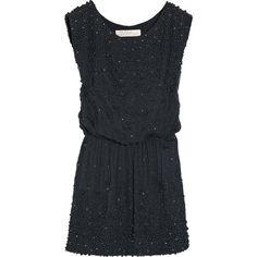 Lela Rose Embellished silk dress ($1,747) found on Polyvore