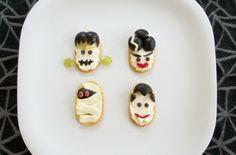 halloween monster crackers fun snack