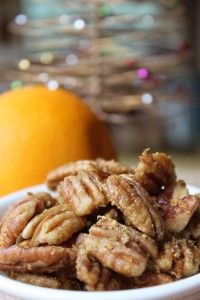 Try these Orange Spiced Pecan for a fab xmas gift