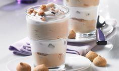Amarettini-Kaffee-Creme -  Cremiges Dessert mit Amarettini für Kaffeeliebhaber
