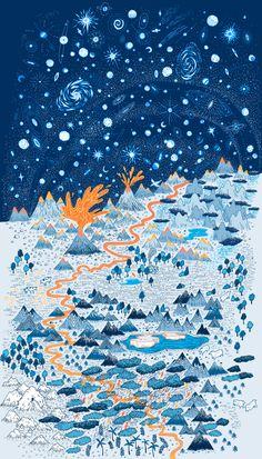 Space Landscape | Society of Illustrators 54