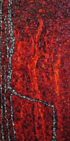 Red abstract Mosaic