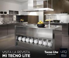 Integra el acero inoxidable en la #decoración de tu #cocina